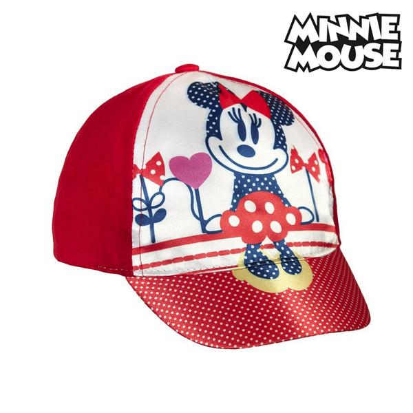 Klobouček pro děti Minnie Mouse 9537 (44 cm) Červený