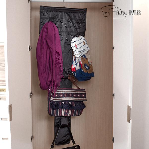 Organizér Kabelek a Doplňků Shiny Hanger Glam