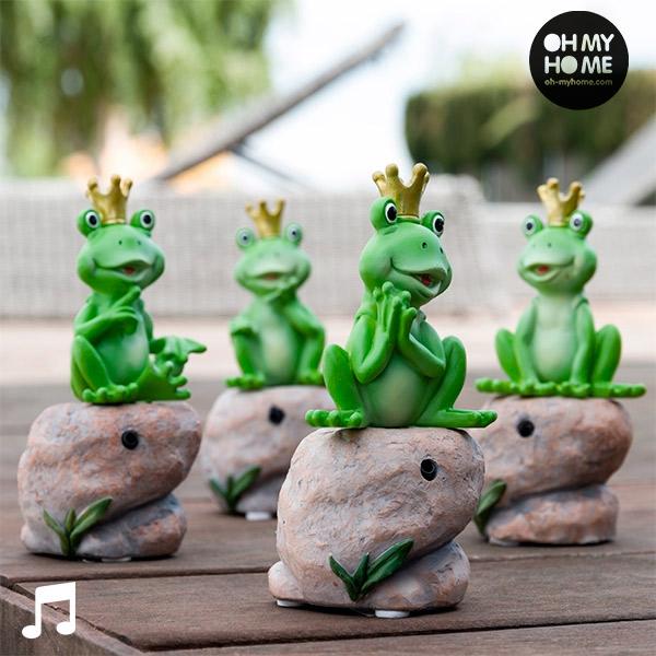 Żabka Princely z Dźwiękiem i Czujnikiem Ruchu Oh My Home