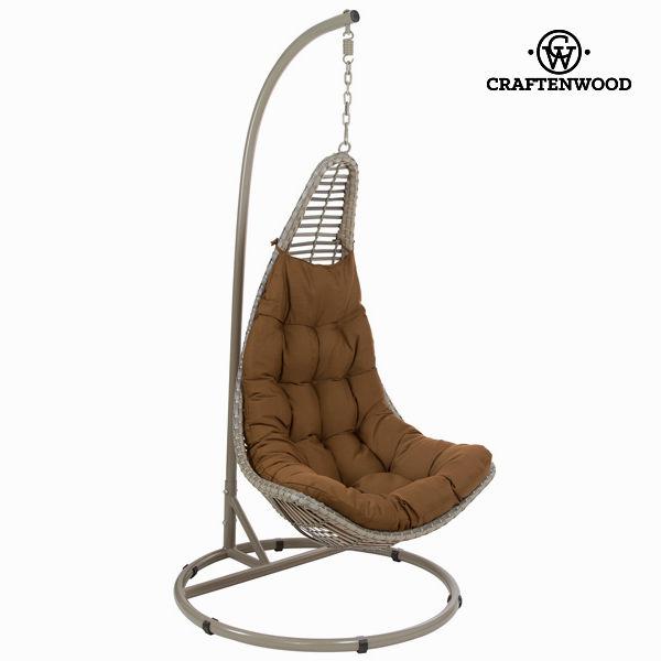 Hnědý závěsný košík by Craftenwood