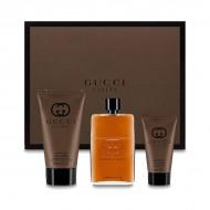 Souprava spánským parfémem Guilty Absolute Gucci (3 pcs)