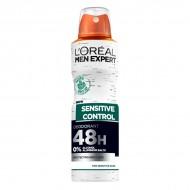 Dezodorant w Sprayu Sensitive Control L'Oreal Make Up (150 ml)