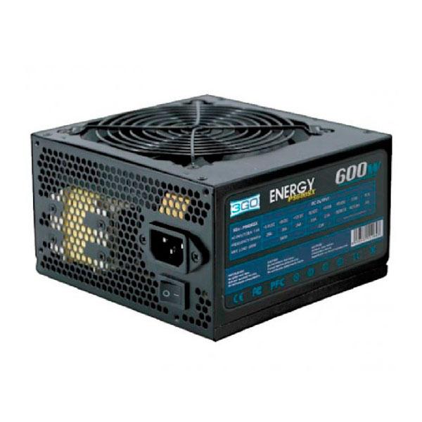 Zasilanie 3GO PS600SX ATX 600W Czarny matowy
