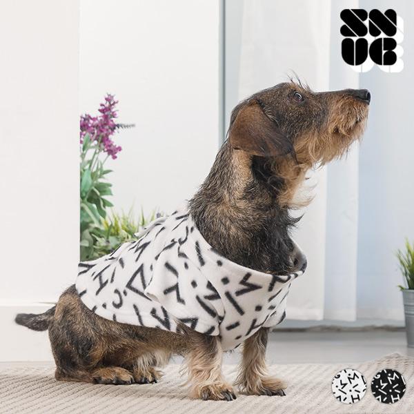 Obleček s Rukávy pro Psy Symbols Snug Snug One Doggy - Bílý