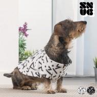 Koc z Rękawami dla Psów Symbols Snug Snug One Doggy - Biały