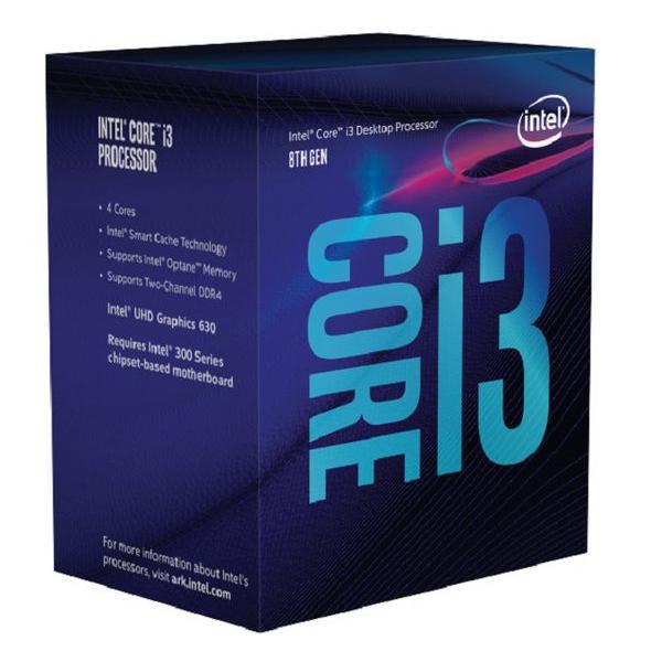 Procesor Intel Intel® Core™ i3-8100 Processor BX80684I38100 Intel Core i3 8100 3,6 Ghz 6 MB LGA 1151