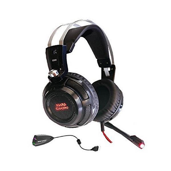 Słuchawki Gaming z mikrofonem Tacens MH316 7.1 Surround USB + 40 mm Neodi Ultra Bass 32Ω 15 mW Czarn