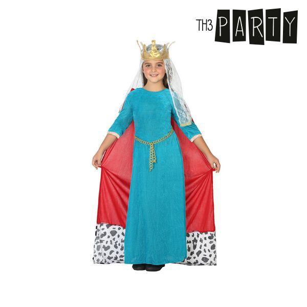 Kostium dla Dzieci Th3 Party Średniowieczna królowa - 7-9 lat