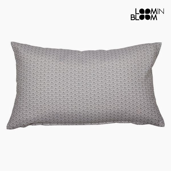Polštářek Bavlna a polyester Šedý (30 x 50 x 10 cm) by Loom In Bloom