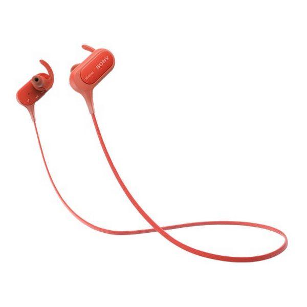 Sportovní Bluetooth sluchátka Sony MDRXB50BSR.CE7 Červený