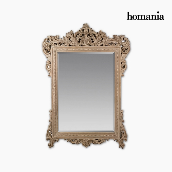 Lustro Żywica syntetyczna Szkło fazowane Drewno (156 x 5 x 107 cm) by Homania