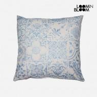 Poduszka Niebieski (45 x 45 cm) - Queen Deco Kolekcja by Loom In Bloom