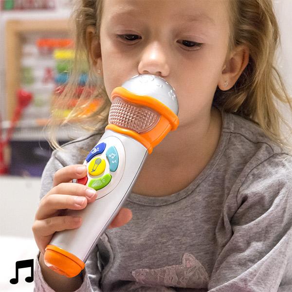 Ręczny Mikrofon dla Dzieci ze Światłem i Dźwiękiem