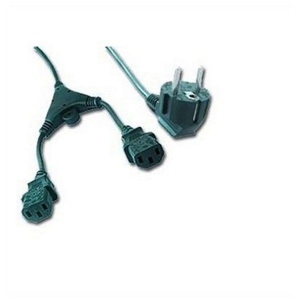 Napájecí Kabel C13 iggual APTAPC0483 IGG311196 2 m