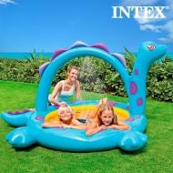 Nafukovací Bazén se Sprchou Dinosaurus Intex