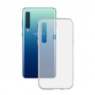 Puzdro na mobil Samsung Galaxy A9 2018 Flex TPU Transparentná
