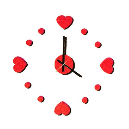 Zegar ścienny Zrób to sam - Serca