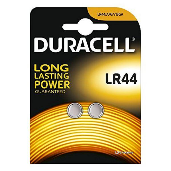 Alkaline Button Cell Batteries DURACELL DRBLR442 LR44 1.5V (2 pcs)