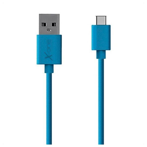 Kabel USB A 2.0 na USB C Ref. 101189 Niebieski