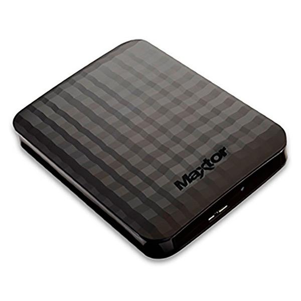 Externí Pevný Disk Maxtor STSHX-M201TCBM 2 TB USB 3.0 Černý
