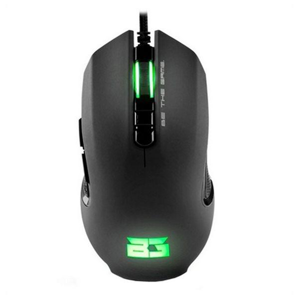 Myszka Gaming z LED BG BGHUNTER 3200 dpi Czarny