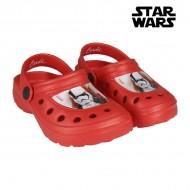 Plážové pantofle Star Wars 7615 (velikost 31) Červený