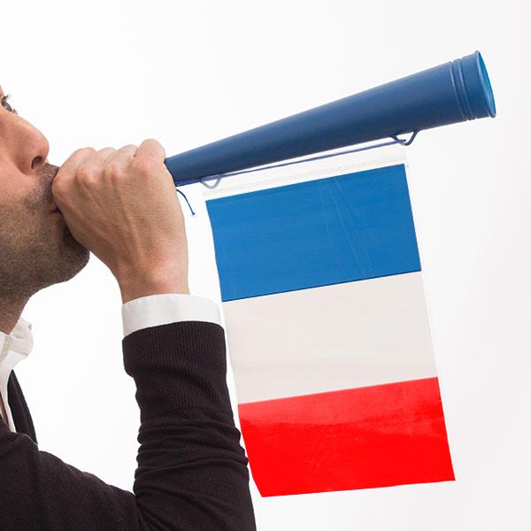 Trumpeta s Francouzskou Vlajkou