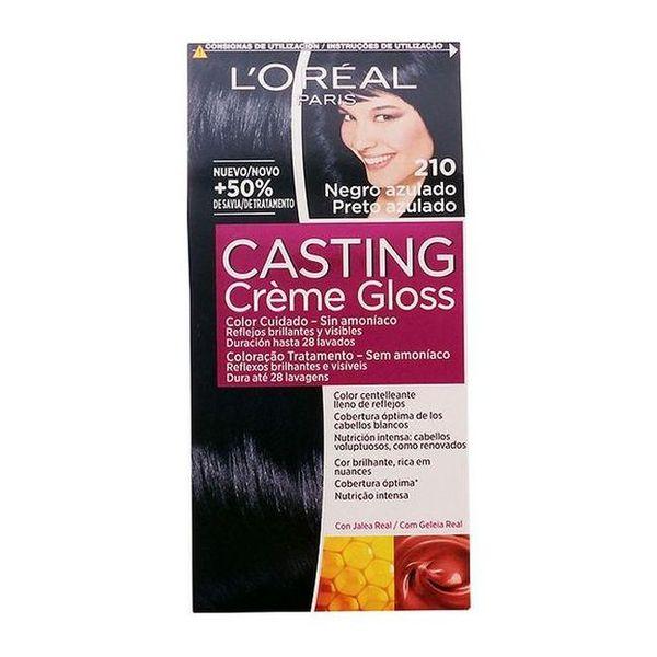 Farba bez Amoniaku Casting Creme Gloss L'Oreal Expert Professionnel Czarno-niebieskawy