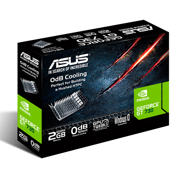 Grafická karta Asus 90YV06N2-M0NA00 2 GB GDDR5 902 MHz