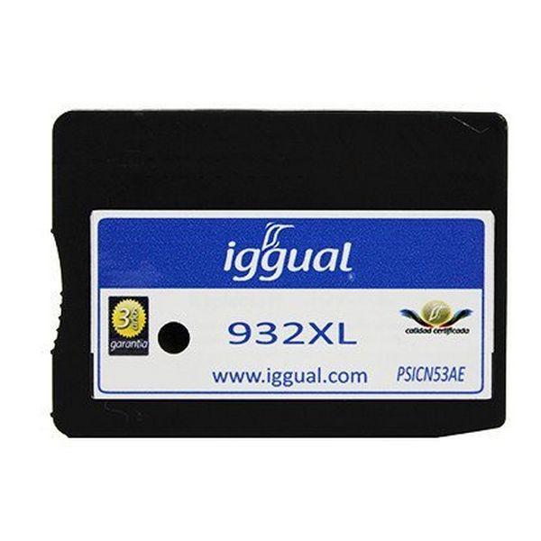 Recyklovaná Inkoustová Kazeta iggual HP SP-H-932BKXL-A Černý