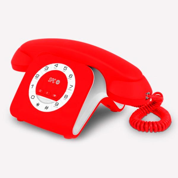 Telefon Stacjonarny SPC 3609R Czerwony