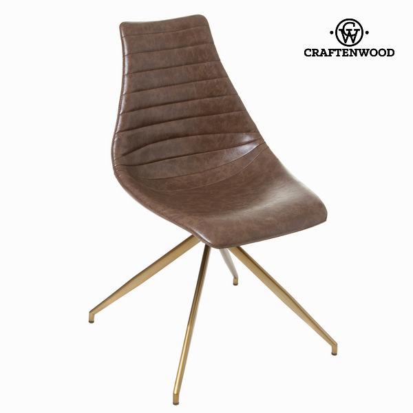Krzesło l amour kolor brązowy by Craftenwood