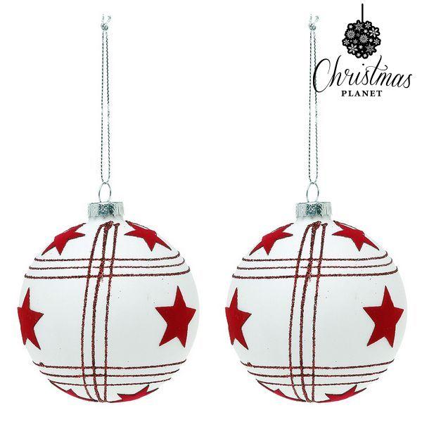 Vánoční koule Christmas Planet 8656 8 cm (2 uds)