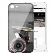 Pokrowiec na Komórkę Iphone 7/8 Flex TPU Skate