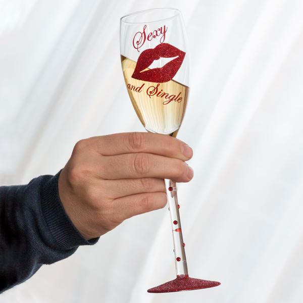 Sklenička na Šampaňské Sexy and Single