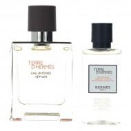 Souprava spánským parfémem Eau Intense Vétiver Hermès (2 pcs)