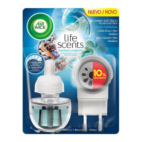Elektrický Osvěžovač Vzduchu Air Wick Life Scents Turquoise Oasis