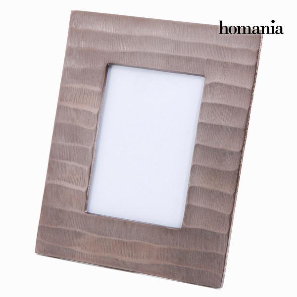 Ramka na Zdjęcia Aluminium (26 x 21 x 2 cm) - New York Kolekcja by Homania