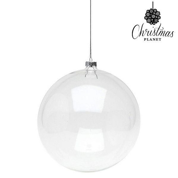 Vánoční koule Christmas Planet 8811 15 cm Sklo