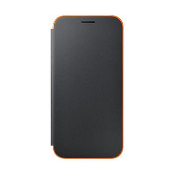 Pokrowiec na Telefon Komórkowy Samsung EF-FA520PBEGWW Samsung A5 2017 Neon Flip Cover Czarna