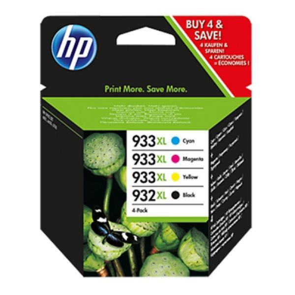 Originální inkoustové náplně Hewlett Packard C2P42AE Černý Žlutý Azurová Purpurová