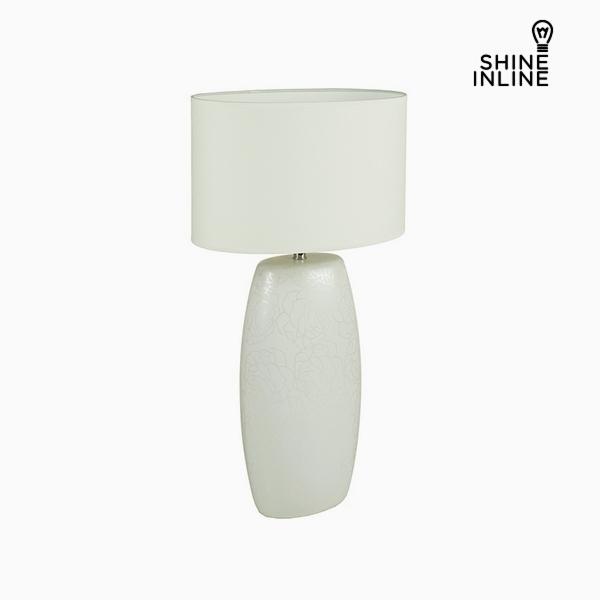 Stolní Lampa Bílý Keramický (16 x 11 x 31 cm) by Shine Inline