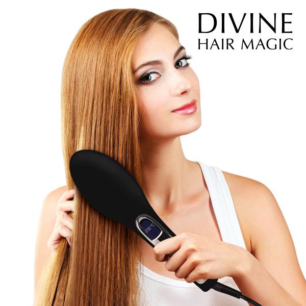 Elektrický Kartáč a Žehlička na Vlasy Brushture