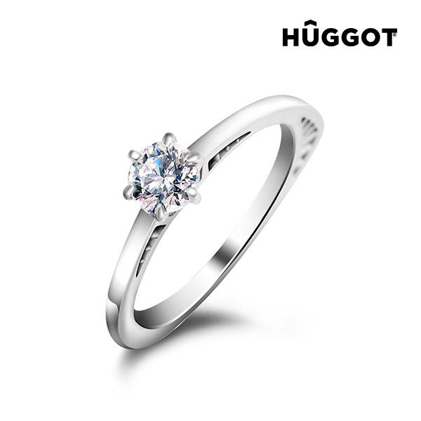Prsten ze sterlingového stříbra 925 se zirkonem Geometry Hûggot vyrobený s křišťály Swarovski® - 16,