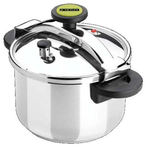 Pressure cooker Monix M530003 8 L Nerezová ocel