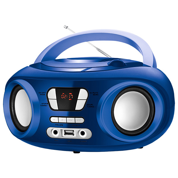 Rádio s CD Bluetooth MP3 9