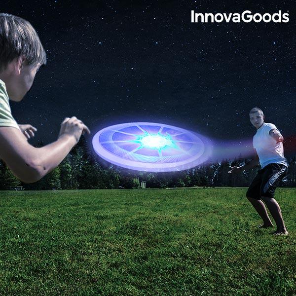 Barevné Frisbee s LED InnovaGoods