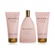 Souprava sdámským parfémem Rosè Aire Sevilla (3 pcs)