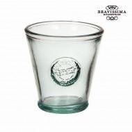 Váza z recyklovaného skla Nízký Kuželovitý - Pure Crystal Kitchen Kolekce by Bravissima Kitchen
