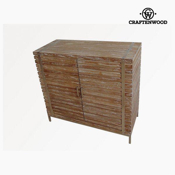 Příborník Dřevo Ocel (90 x 40 x 83 cm) - Village Kolekce by Craftenwood